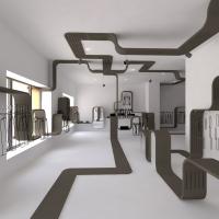 9   Zara belsőépítészeti látványterv Győr 2012