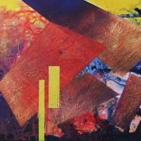 11.  - Kontrasztok  -  60 x 80 cm  - akril  2007