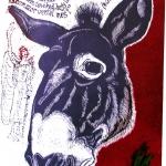 Bálám szamara, színes lino, 2004