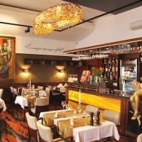 Bella étterem belsőépítészete, Komárom - (2015)