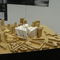 Diplomamunka - Bratislava city center - Pozsony - megépített modell - (2010)