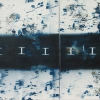 ICHTIS 2010, akril, vászon, 110x80