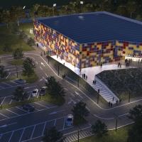 Somorjai városi sportcsarnok – pályázat - látványterv - (2012 - 2013)