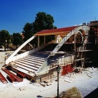 Tiszti pavilon amfiteátruma - szabadtéri színpad (2) - 2001