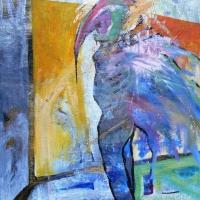 Metamorfózis, 70x100, vászon, akril
