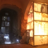 Titok, helyspecifikus installáció, Fischer kastély, Nagykövesd