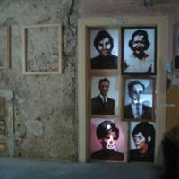Veronika ikonfal, helyspecifikus installáció, Fischer kastély, Nagykövesd